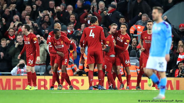 Liverpool Besiegt Manchester City Klar Sport News Dw
