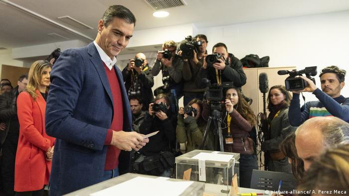 Wahlen in Spanien - Pedro Sanchez