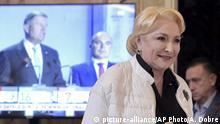 Rumänien Präsidentschafzswahlen Viorica Dancila