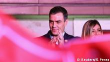 Spanien Parlamentsswahlen PSOE Parteizentrale Pedro Sanchez