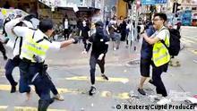 Hongkong Proteste Sai Wan Ho Ausschreitungen