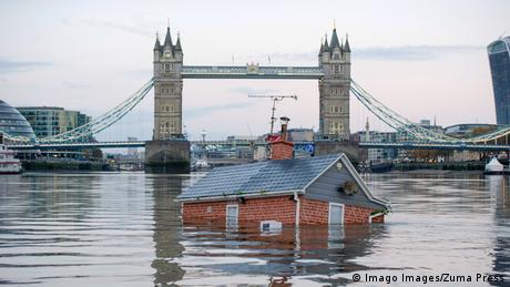 BdTD Großbritannien Klimaprotest Extinction Rebellion in London (Imago Images/Zuma Press)