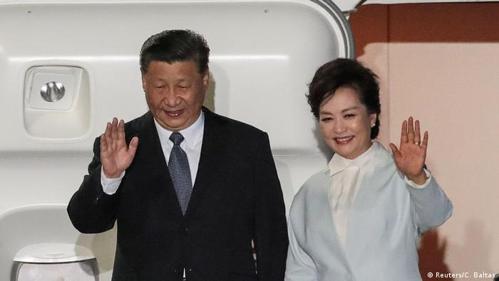 Chinese President Xi arrives in Greece