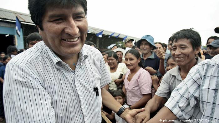 Morales je bio predsednik Bolivije od 2006.