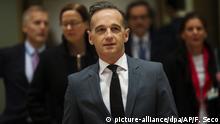 EU-Außenministertreffen in Brüssel Heiko Maas