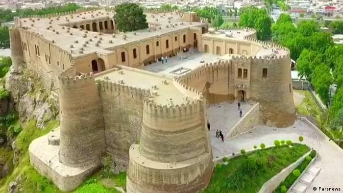 قلعه فلک الافلاک یکی از آثار به جای مانده از دوران ساسانی