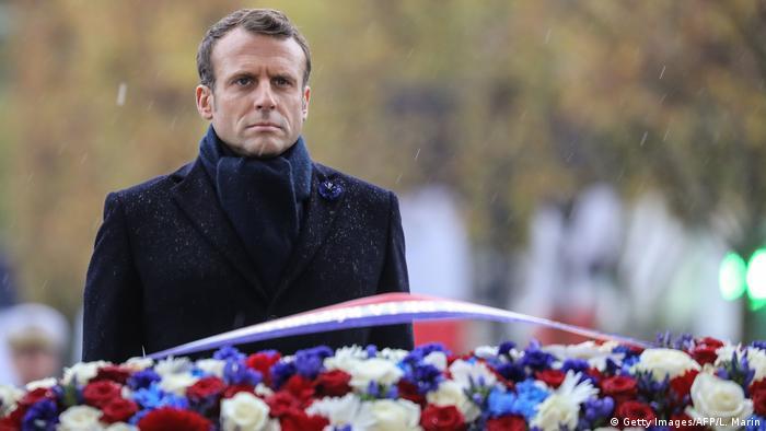 Frankreich Jahrestag des Waffenstillstands im Ersten Weltkrieg (Getty Images/AFP/L. Marin)