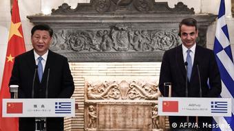 Der chinesische Präsident Xi Jinping besucht Griechenland (AFP/A. Messinis)