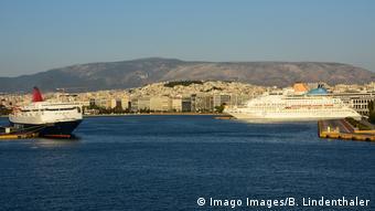 The Greek port of Piraeus