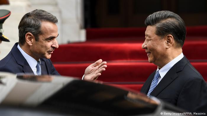 Griechenland Besuch Präsident Xi Jinping