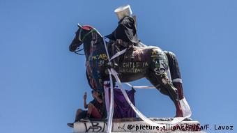 Chile Statue General Manuel Baquedano
