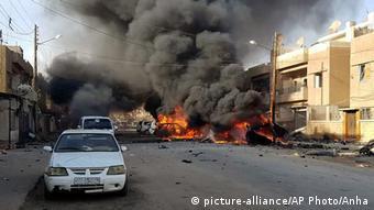 Syrien Explosion in Qamishli