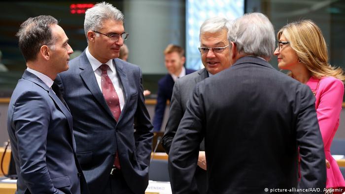 Brüssel EU Außenminister zu Iran