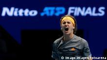 ATP Finals 2019 Alexander Zverev vs Nadal Jubel