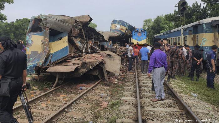 Bangladesch Zugunglück
