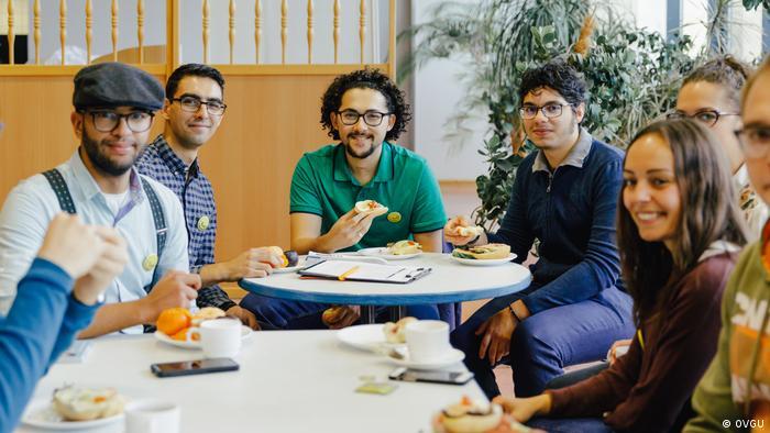 Integration internationaler Strudierende - Universität Magdeburg Student Akram Elborashi