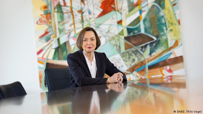 مارگارت وینترمانتل، مدیر سازمان خدمات تبادل دانشگاهی آلمان (DAAD)