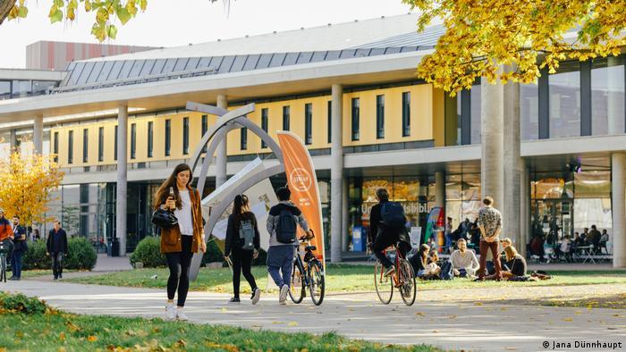 Integration internationaler Strudierende - Universität Magdeburg Campus (Jana Dünnhaupt)