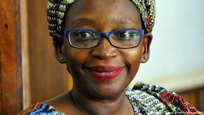 Stella Nyanzi (Wilfred Sanya, Centre for legal Aid)