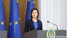 Republik Moldau Premierministerin Maia Sandu