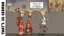 DW Euromaxx Comics von Fernandez That´s so german