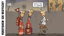 DW Euromaxx Comics von Fernandez Verstehen Sie Deutsch?
