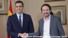 Spanien Parlamentswahlen | Vorvereinbarung von Sozialisten und Linksbündnis