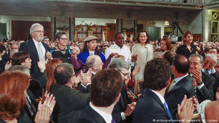 Norwegen Nobelpreis Verleihung Kolumbien Ingrid Betancourt