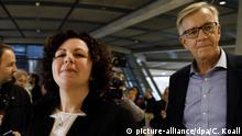 Berlin | Amira Mohamed Ali, Wahl Co-Vorsitzende Linksfraktion | mit Dietmar Bartsch