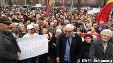 Republik Moldau Chisinau | Anhänger der Regierung