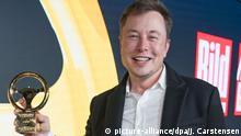 Verleihung des Goldenen Lenkrads - Elon Musk, Tesla-Chef