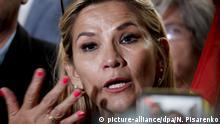La Paz: Jeanine Anez, zweite Vizepräsidentin des Senats