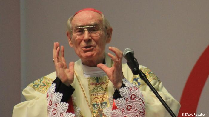 Mszę w Krzyżwej odprawił opolski arcybiskup-senior Alfons Nossol