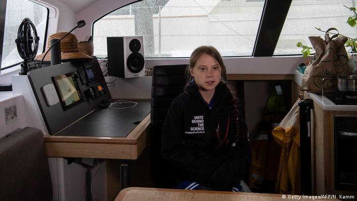 Greta Thunbergs Rückreise nach Europa