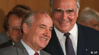 Kohl und Gorbatschow