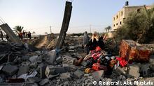 Gazastreifen | Trümmer eines Hauses nach israelischem Raketenangriff