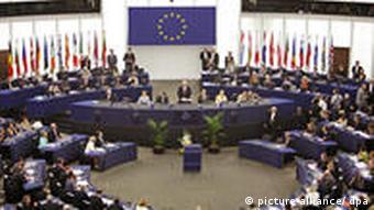 Plenary session of the EU parliament