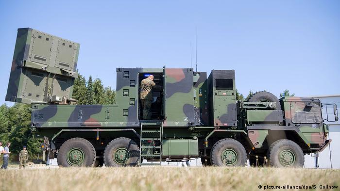 Symbolbild Rüstungsexporte Deutschland