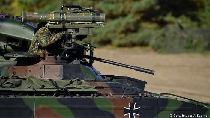 آلمان پس از آمریکا، روسیه و فرانسه چهارمین صادرکننده تجهیزات نظامی جهان است