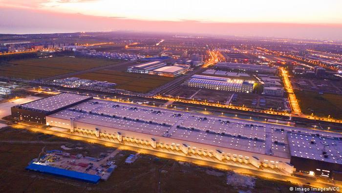 China Automobilindustrie l Tesla Gigafactory 3 in Shanghai