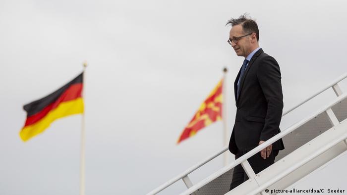 Nord-Mazedonien Heiko Maas zu Besuch in Skopje