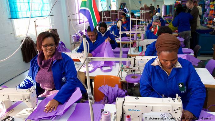 Volkswagen unterstützt soziales Projekt in Südafrika