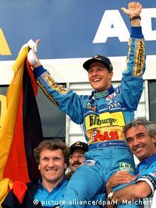 Michael Schumacher, el campeón del mundo más jóven de Fórmula 1, en 1994.
