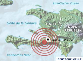 El terremoto de Haití provocó una gran devastación humana y material.