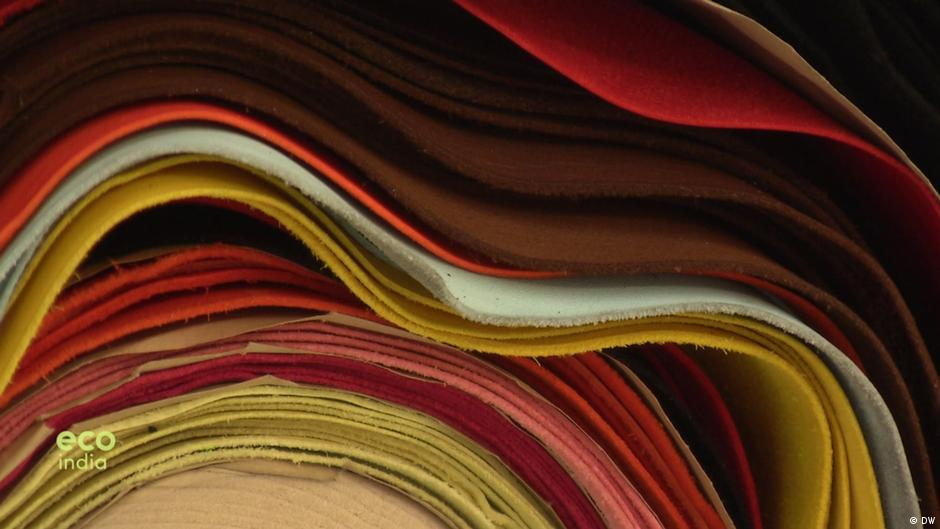 Sustainable leather tanning with olive leaves