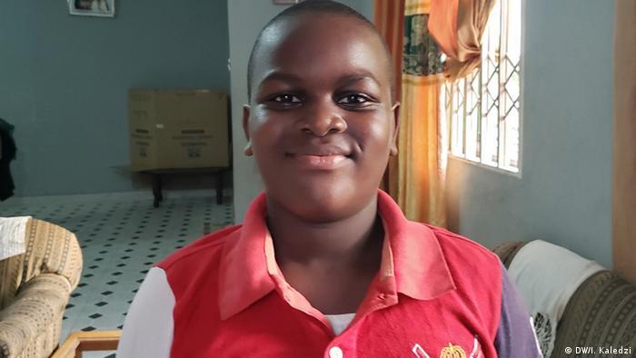 30 Jahre UN Kinderrechtskonvention Ghana Accra Neil Amoah (DW/I. Kaledzi)