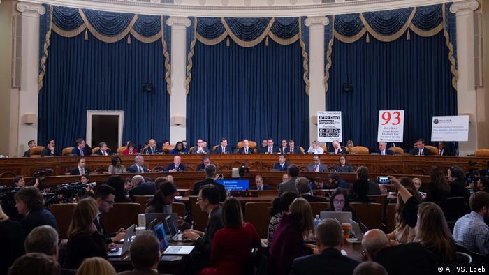 Представники комітету з розвідки Конгресу США проводять слухання у справі щодо ймовірного імпічменту Дональда Трампа, архівне фото