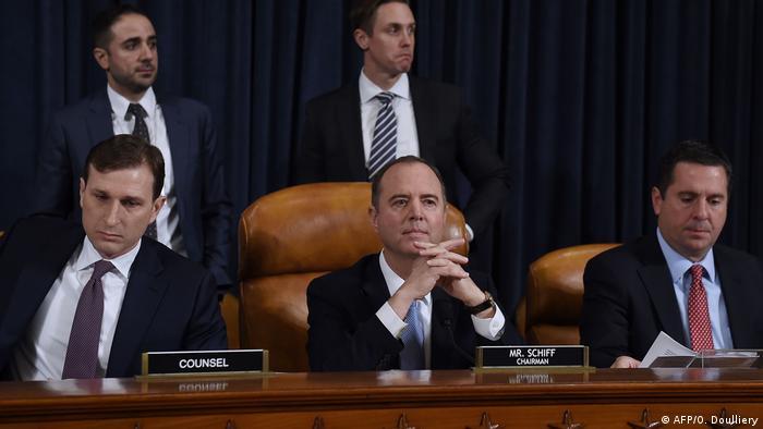 Participantes do processo de impeachment contra Donald Trump