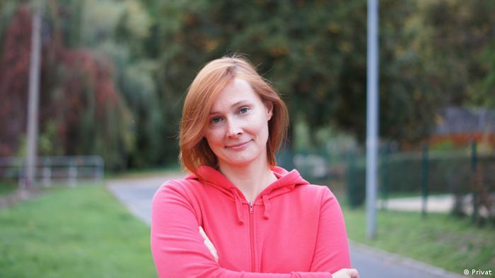 Porträtfoto der Deutschlehrerin Marina aus Russland