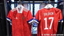 Russland Trikots Fußballnationalmannschaft für EM-2020